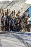 Memorial to 1944 Warsaw Uprising in Warsaw Royalty Free Stock Photo