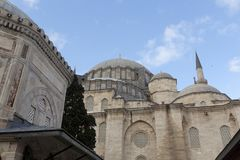 Tomb of the Ottoman sultan Suleiman the Magnificent in Suleymaniye mosque Royalty Free Stock Photography