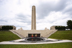 Memorial tower and museum Royalty Free Stock Images