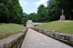 Memorial Tranchée des Baionnettes, Verdun Royalty Free Stock Photo