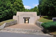 Memorial Tranchée des Baionnettes, Verdun Stock Photography