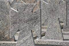 Memorial transversal de pedra Imagens de Stock