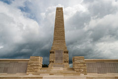 Memorial in Turkey. The Helles Memorial on April 18, 2014 at the Gallipoli Peninsula, Turkey. The Gallipoli Peninsula is the site of extensive First World War Stock Images