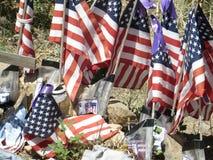 Memorial a U S Veteranos, montículo do polegar, o Arizona imagens de stock royalty free