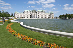 Memorial in Upper Belvedere Palace in Vienna Stock Images
