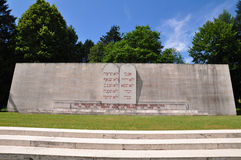 Memorial for jewish soldiers killed at Verdun Royalty Free Stock Photography