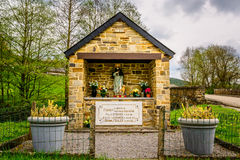 Memorial for victims of the nazis in Ardennes Royalty Free Stock Photos