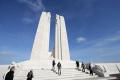 Memorial of Vimy in france Royalty Free Stock Photos