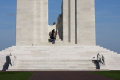 Memorial of Vimy in france Royalty Free Stock Photography