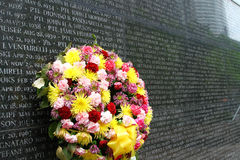 Memorial wall Royalty Free Stock Images