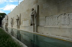 Memorial Wall Royalty Free Stock Image