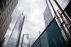 9/11 Memorial at World Trade Center, Ground Zero Royalty Free Stock Photo