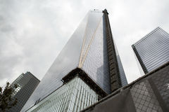 9/11 Memorial at World Trade Center, Ground Zero Stock Photo