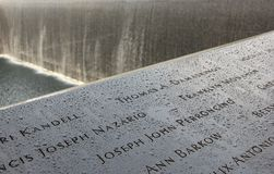 9/11 Memorial Royalty Free Stock Photos