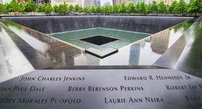 9.11 Memorial Royalty Free Stock Photos