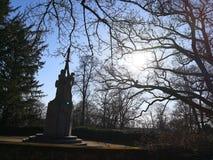 Memorial ww2 Imagem de Stock