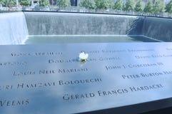 Memoriale 911 Fotografia Stock