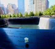 Memoriale 911 Immagini Stock