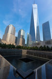 Memoriale 9 11 2001 Fotografia Stock Libera da Diritti