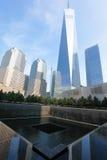 Memoriale 9 11 2001 Fotografie Stock Libere da Diritti