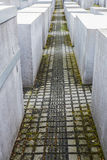 Memoriale agli ebrei assassinati a Berlino, Germania fotografia stock libera da diritti