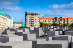 Memoriale agli ebrei assassinati di Europa Immagini Stock Libere da Diritti