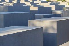 Memoriale agli ebrei assassinati di Europa a Berlino Immagini Stock Libere da Diritti