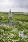 Memoriale ai prigionieri di KarLang in Spassky Monumento alle vittime dall'Ucraina Fotografia Stock