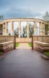 Memoriale al caduto in Normandia Fotografia Stock