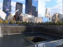 Memoriale al ground zero del World Trade Center a New York Fotografia Stock