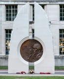 Memoriale alle forze armate che hanno combattuto nell'Irak e Afganistan fotografia stock libera da diritti
