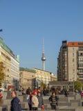 Memoriale Berlino degli ebrei Immagine Stock Libera da Diritti