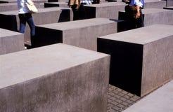 Memoriale Berlino di olocausto Fotografia Stock