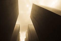 Memoriale Berlino di olocausto Fotografia Stock Libera da Diritti