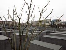 Memoriale a Berlino, Germania Fotografie Stock Libere da Diritti