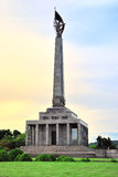 Memoriale Bratislava di Slavin Immagine Stock