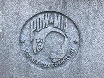 Memoriale a Carolina Veterans del sud delle forze armate degli Stati Uniti fotografia stock libera da diritti