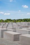 Memoriale degli ebrei assassinati in Europa anche conosciuta come il Holoca Fotografie Stock Libere da Diritti