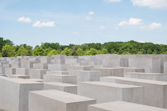 Memoriale degli ebrei assassinati in Europa anche conosciuta come il Holoca Fotografia Stock