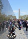 Memoriale dei veterani del Vietnam, Washington DC Fotografia Stock Libera da Diritti