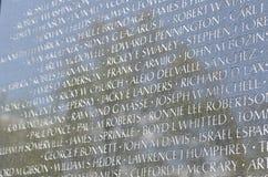Memoriale dei veterani del Vietnam, Washington DC Immagini Stock Libere da Diritti