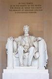 Memoriale del Abraham Lincoln Fotografia Stock Libera da Diritti