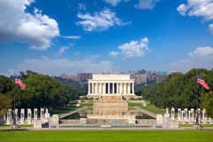 Memoriale del Abraham Lincoln Fotografie Stock