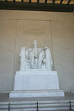 Memoriale del Abraham Lincoln Immagine Stock