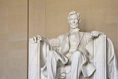 Memoriale del Abraham Lincoln in Washington DC Fotografia Stock Libera da Diritti