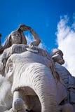 Memoriale del Albert, Londra: particolare dell'Asia fotografia stock libera da diritti