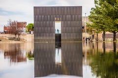 Memoriale del bombardamento di Città di Oklahoma fotografie stock libere da diritti