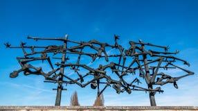 Memoriale del campo di concentramento di Dachau Immagini Stock Libere da Diritti