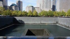 Memoriale del centro di commercio mondiale - ampia vista Fotografie Stock Libere da Diritti