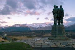 Memoriale del commando Fotografia Stock